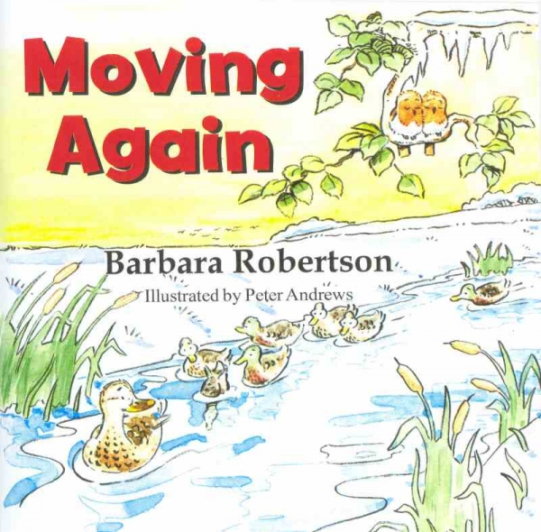 MOVING AGAIN by Barbara Robertson published by Arthur H Stockwell - Book Publisher - North Devon