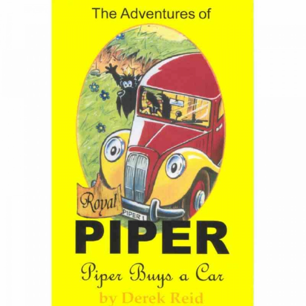 PIPER BUYS A CAR by Derek Reid published by Arthur H Stockwell - Book Publisher - North Devon